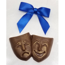 Comedy Masks Pair (Small)