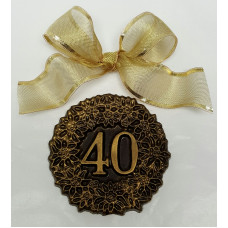 "xChocolate ""40"" Medallion"