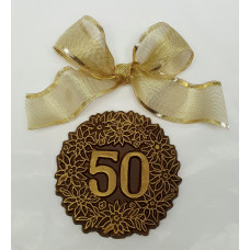 "xChocolate ""50"" Medallion"