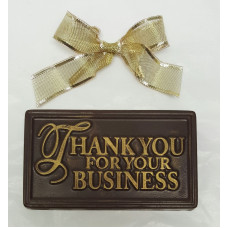 """Thank you for your business"" Bar (Small)"