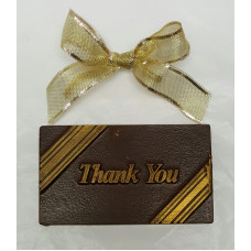 "Small ""Thank you"" Chocolate Bar"