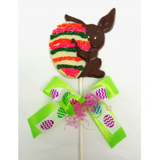 Bunny Painting an Egg -  Lolly