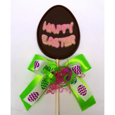 """Egg """"Happy Easter"""" Lolly"""