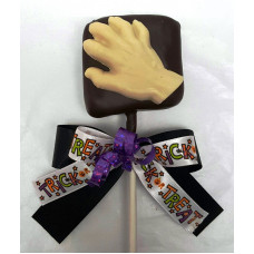 Marshmallow Lolly Dipped in Chocolate