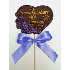 """Grandmothers are Special"" Lolly (Large)"