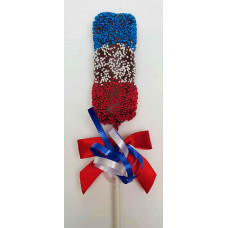 Patriotic Marshmallow Lolly