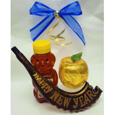 Apple, Honey & Shofar Gift