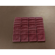 Ruby Chocolat bite size bars 4 oz