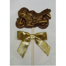 Small Chocolate Motorcycle Lolly