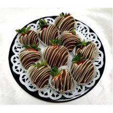 Strawberries (fresh) Dipped in Chocolate by Order