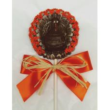 Medallion Shaped Turkey Lolly
