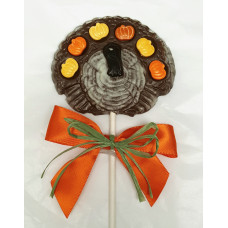 Fanned Feather Turkey Lolly