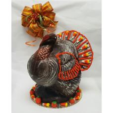 3-D Chocolate Turkey (X-Large)