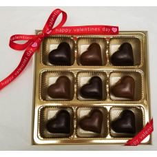 Heart Shaped Truffles (Gift of 9)