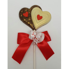 Double Heart Lolly