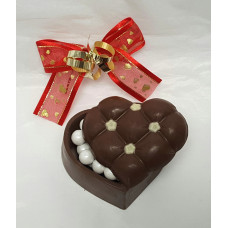 Puffy Chocolate Heart  (Small)