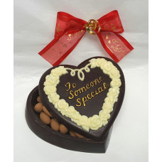 "Heart Shaped Chocolate Box ""To Someone Special"""