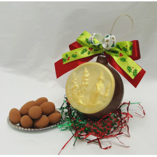3 Dimensional Chocolate Ornament