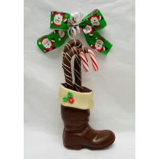 Boot Shaped Chocolate 3-D (Medium)