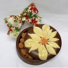 Poinsettia Chocolate Box