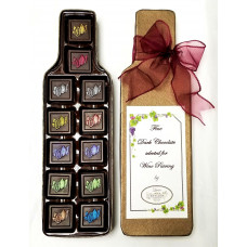 Chocolate for Wine Pairing (Wine Bottle Box)