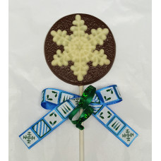 Snowflake Lolly