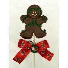 Gingerbread Boy Lolly
