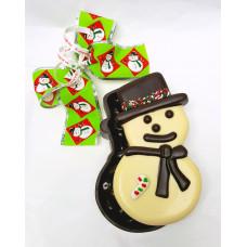Snowman Lid Chocolate Box