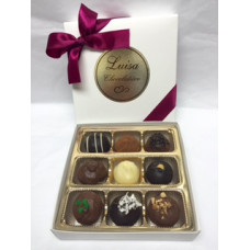 Assorted Chocolate Truffles (Gift of 9)