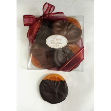 Orange Slices Dipped in Chocolate (Box of 4)