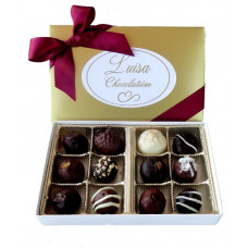 Assorted Chocolate Truffles (Gift of 12)