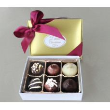 Assorted Chocolate Truffles (Gift of 6)