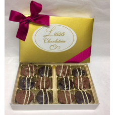 Chocolate Almond Clusters (box of 12)