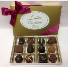 Assorted Chocolate Truffles/Molded (Gift of 12)