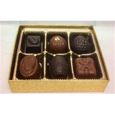 Assorted Chocolate Truffles/Molded (Gift of 6)