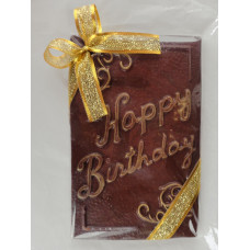 "Large Vertical ""Happy Birthday"" Chocolate Bar"