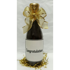 Small Chocolate Bottle (Congratulations)