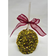 Chocolate-Caramel-Pistachios Apple
