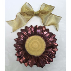 Large Chocolate Spring Flower!