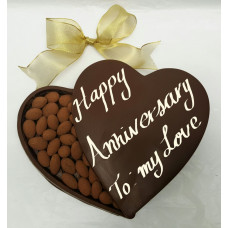 X-Large Chocolate Heart Box (Anniversary)