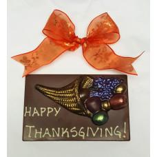 Happy Thanksgiving Cornucopia Bar