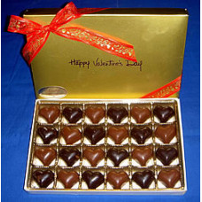 Heart Shaped Truffles (Gift of 48)