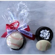 Chocolate Box w/Baseball Lid