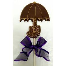 Chocolate Umbrella Lollypop