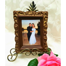 Frame w/Your Edible Photo (Large Size)